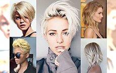 Krótkie, półkrótkie i średniej długości - PRZEGLĄD modnych fryzur dla blondynek! [TRENDY 2017]