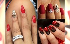 Czerwone manicure hybrydowe: uwielbiasz je, ale klasyczne już ci się znudziło? Sprawdź, jak je ożywić!