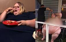 SZOK! Waży 272 kilogramy, a mąż myje ją WĘŻEM OGRODOWYM.
