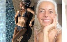 Ma 62 lata, dwoje wnucząt i... ciało BOGINI! Yasmina Rossi zdradza sekret swojego wyglądu.