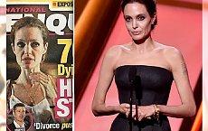 Angelina Jolie ZNÓW CHUDNIE? Znamy powód. Nie, nie chodzi o Brada...