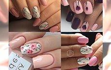 Delikatny manicure z uroczymi kwiatami. Poczuj wiosenną aurę!