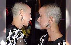 ŁYSA Monika Brodka pierwszy raz  oficjalnie po ścięciu włosów. Jak wygląda?