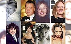 CO ZA GALERIA! Tak wyglądali celebryci, kiedy byli dziećmi! Zobacz, jak prezentowała się Adele, Brad Pitt czy Ryan Gosling! Kto zmienił się nie do poznania, a kogo rozpoznałabyś od razu?!