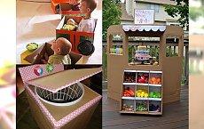 Masz w domu kartonowe pudło? Wykorzystaj któryś z tych pomysłów, a Twoje dziecko będzie piszczało ze szczęścia!