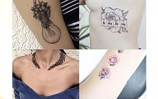 Świeża galeria inspiracji tatuażowych dla kobiet, które nie lubią oklepanych motywów