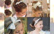 Najpiękniejsze fryzury komunijne - znajdź uczesanie dla swojego dziecka
