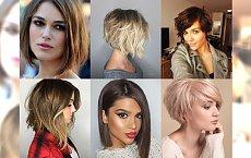 Cięcia, które sprytnie zamaskują cienkie włosy - wielka galeria