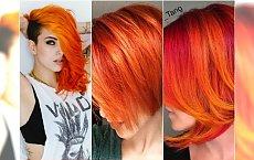 Ognisty pomarańcz na włosach - odważycie się? Przejrzyjcie najpiękniejsze odcienie