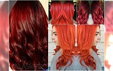 Modne kolory włosów: rudości, czerwienie w najpiękniejszych wariantach