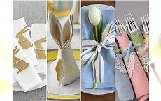 Dekoracje na stół wielkanocny: serwetki, stroiki i stylowe ozdoby DIY