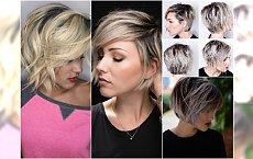 Cieniowane fryzury dla włosów za ucho - urzekające cięcia, które mają moc odmładzania!