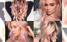 Koloryzacja w odcieniach ROSE GOLD - uwielbiamy tą wersję blondu! Inspiracje