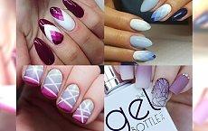 Geometric ombre nails - opcja idealna dla dziewczyn z charakterem
