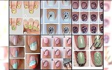 Śliczne wzorki na paznokciach krok po kroku - to nie takie trudne!