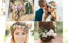 21 nietuzinkowych upięć ślubnym z kwiatami