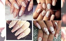 Galeria eleganckiego NUDE manicure dla dziewczyn, które nie lubią wiosennych pasteli