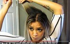 Sama sobie ścięła włosy i zrobiła boba. To nie mogło się udać? A wyszło PIĘKNIE!