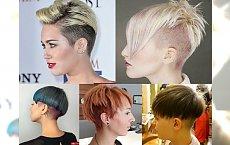Nowoczesne fryzury dla krótkich włosów - przegląd fryzjerskich trendów 2017!