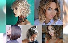 TOP 15-stka! Przegląd fryzur dla półdługich włosów - trendy 2017!