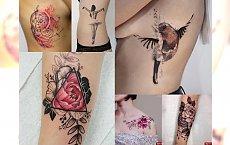 Tatuaże, jakich jeszcze nie widziałaś! Mega charyzmatyczne, kobiece motywy 2017!