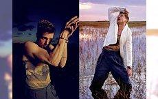 Brad Pitt tarza się w polu w markowych skarpetkach. To NAJGORSZA SESJA ever?