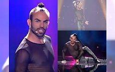 """Eurowizja 2017: Wokalista wymachuje warkoczem i rozbiera się na scenie. Internauci podzieleni: """"żenada"""" vs """"prawdziwy zwycięzca"""""""