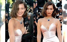 Bella Hadid w NAJODWAŻNIEJSZEJ SUKNI na Festiwalu w Cannes. I ups, zaliczyła wpadkę!