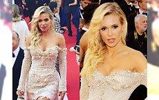 Doda na Festiwalu Filmowy w Cannes! Jej sukienka to CUDO