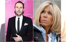 """""""Obwisy"""" i """"chomiczki"""" na twarzy Brigitte Macron. Krzysztof Gojdź ocenia wygląd pierwszej damy Francji"""