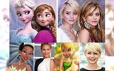 Co wspólnego mają światowe gwiazdy z bohaterami Disney'a? Przejrzyj tę galerię, a będziesz W SZOKU!