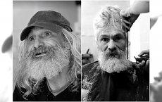 Niesamowita metamorfoza! Bezdomny mężczyzna trafił do fryzjera, gdzie zmieniono go w