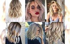 Półdługie cięcia dla blondynek w różnych odcieniach - galeria perełek