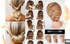 Letnie upięcia krok po kroku - galeria ślicznych fryzurek, które z łatwością wykonasz sama!