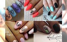 HIT: Inspiracje manicure - geometryczne zwierzaki na paznokciach