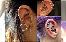 Piercing ucha - jak oryginalnie przebić uszy? Przeglądamy najgorętsze trendy