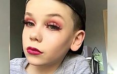 SZOK! 10-letni Brytyjczyk uczy na Instagramie, jak wykonać perfekcyjny makijaż! Widzieliście już to...?!