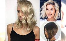 Galeria cięć dla półdługich włosów - te fryzurki to HIT!