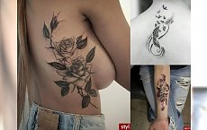 Tatuaże, jak z najlepszych salonów! Postaw na motyw, od którego nie można oderwać wzroku!