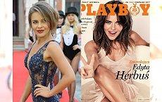 """Edyta Herbuś niedawno pozowała do """"Playboya"""". A jak wypadła na imprezie magazynu?"""