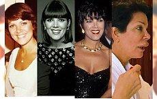 50 twarzy... KRIS JENNER. Zobaczcie, jak zmieniała się matka Kardashianek!