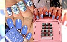 Manicure na lato 2018: Cornflower nails czyli paznokcie w kolorze chabru! Zobacz najlepsze propozycje nowego błękitu