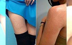 Biały tatuaż - nie jesteście przekonane? To spójrzcie na te wzory. Są niezwykłe!