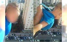 """""""Tysiąc lajków albo go upuszczę"""". Algierczyk wystawił dziecko za okno na wysokości 15. piętra"""