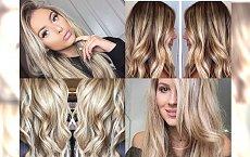 Koloryzacja dla blondynek w odcieniach LATTE - śliczne inspiracje!