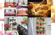 30 odjazdowych pomysłów na metamorfozę małego balkonu - stwórz swoją stylową strefę relaksu!