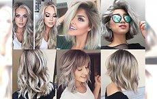 23 zdjęcia popielatych koloryzacji dla blondynek, które przekonają Cię, że to kolor warty grzechu