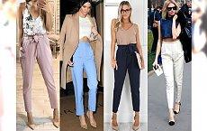 HOT TREND: Spodnie marchewki - komu pasują i z czym je nosić? Galeria ślicznych inspiracji