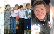 Filip Chajzer odtworzył zdjęcie sprzed 25 lat. Poznacie, który to on?