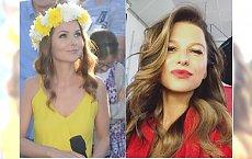 Paulina Sykut w żółtej sukience. Taka samą założyła Lewandowska. Która wyglądała lepiej?